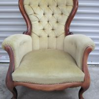 Grandfather chair-before