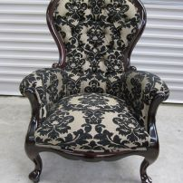 grandfather chair after