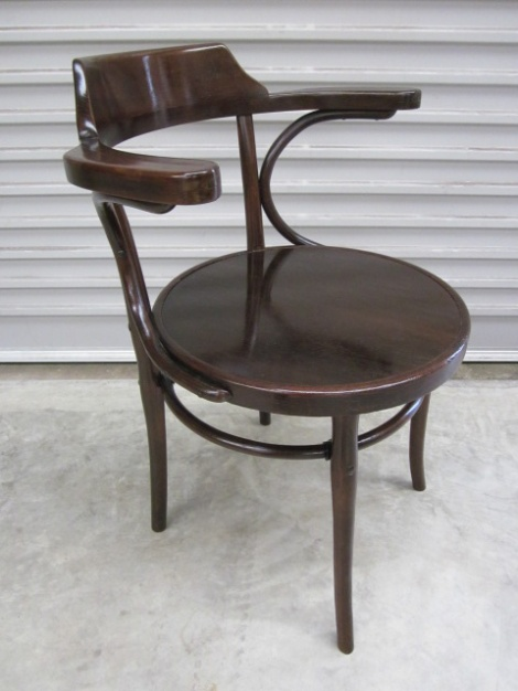 Thonet Desk Chair-After Restoration