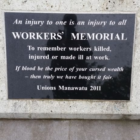 Workers Memorial - Memorial Park Palmerston North