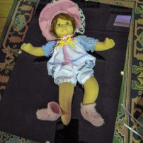 Old stocking doll