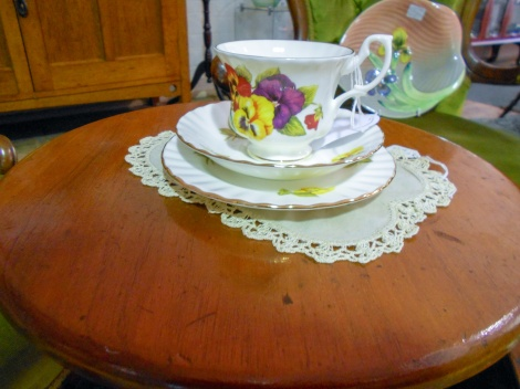 Royal Albert trio - one from our collection
