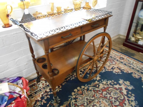 European drinks cart