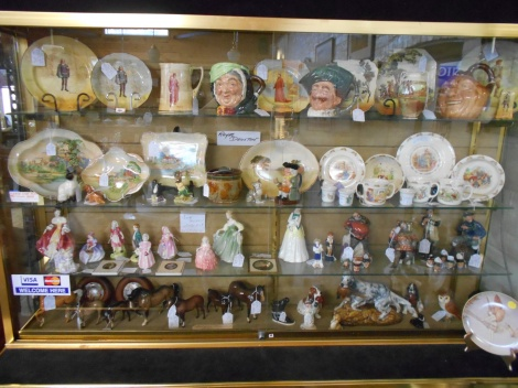 Royal Doulton plates & figurines