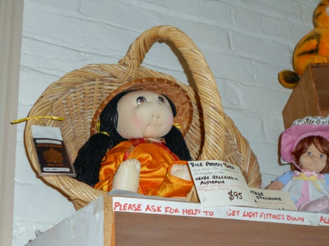 Rice Paddy doll - never released in Australia