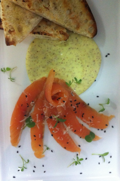 Vodka & Dill Cured Salmon