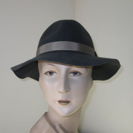 Bardot Dark Grey Fedora