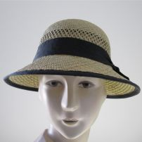 Bessie Rush Cloche Ribbon Edge
