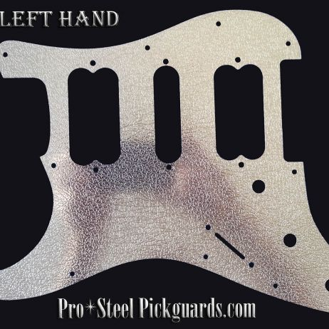 Buffalo HSH Left Hand Metal Guard Fender Stratocaster Stainless Steel Strat Guard