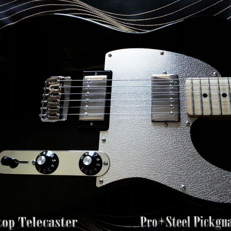 NEW 'BUFFALO' - FENDER BLACKTOP TELECASTER STEEL PICKGUARD