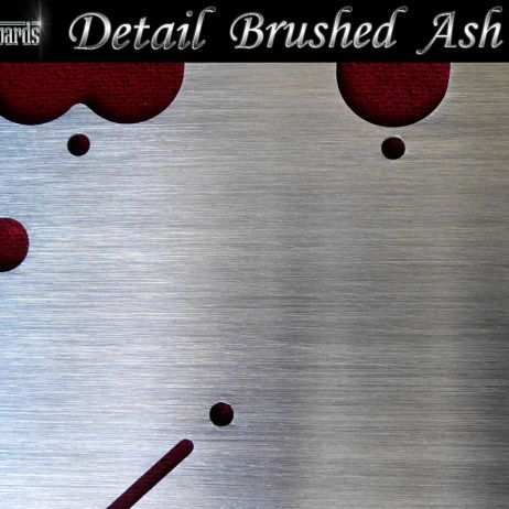 BRUSHED ASH SILVER - DETAILED SECTION