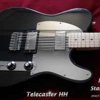 Fender Telecaster HH Guard Set Mirror Tele Stainless Steel Fitted Pickguard