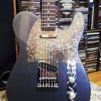 Ben's Telecaster from Oakland, California with Stainless Steel Stacco Silver Pickuard
