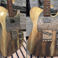 Custom Build Telecaster from Brad in Houston with Silver River Tele Guard Control Set