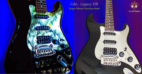 From Peter at Tweed Heads, Aust. G&L Legacy HB with Chrome Mirror Guard