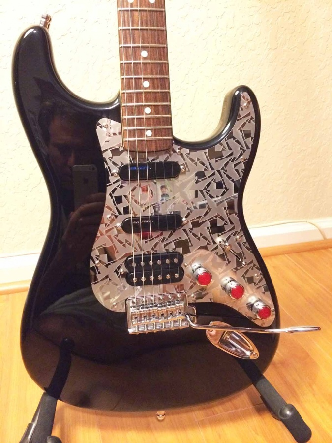Wow When You Want Your Guitar To Be Own Just Do It Pro Steel Pickguards