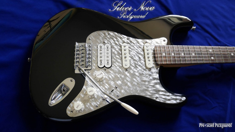 This strat sparks from any angle like 3d pro steel pickguards cool morphing things happen to a strat with a silver nova pickguard you have to be in the same room its alive this strat sparks from any angle sciox Images