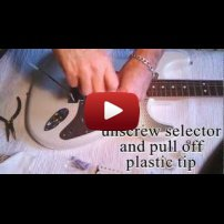 How to Easy Change a Strat Pickguard, Replace Pickup, and Install Humbucker Wiring Guide Alter Guard