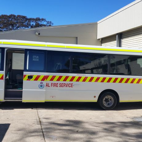 Rural Fire Service Bus