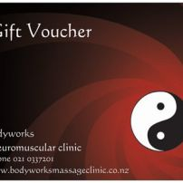 Gift vouchers  and concession cards