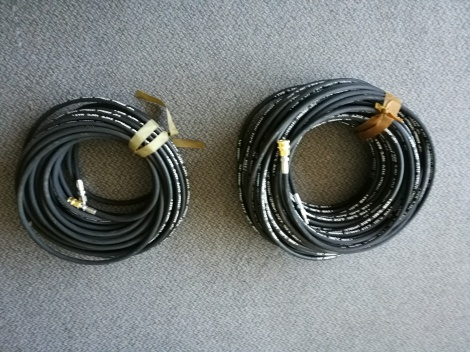Drain cleaning hose