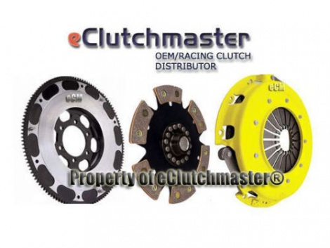 04-08 RX8  RX-8 eCLUTCHMASTER® STAGE 4 RACING CLUTCH & LITEWEIGHT FLYWHEEL