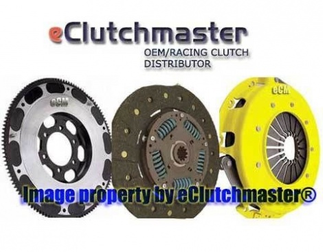 04-08 RX8  RX-8 eCLUTCHMASTER® STAGE 1 RACING CLUTCH & LITEWEIGHT FLYWHEEL