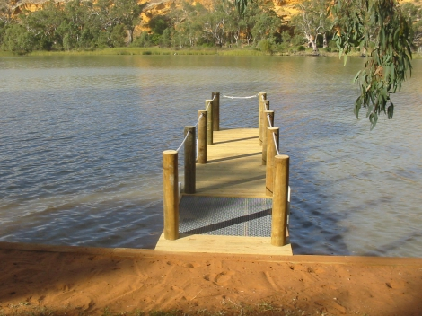 Rope Rail Timber Jetty