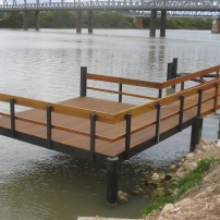 Murray Bridge Council Wharf