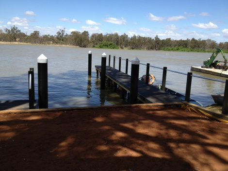 Recycled Plastic Jetty at Mannum