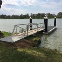 Aluminium Floating Jetty at Mannum