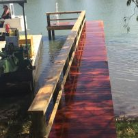 Kroehn's Landing - Timber Jetty