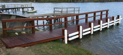 Teal Flat Timber Jetty
