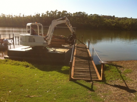 Jetty Removal