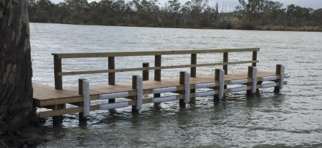 Jetty at River Lane, Mannum
