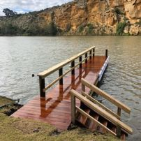 Jetty with Staircase at Walker Flat
