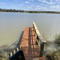 Small 6m Jetty at Five Mile
