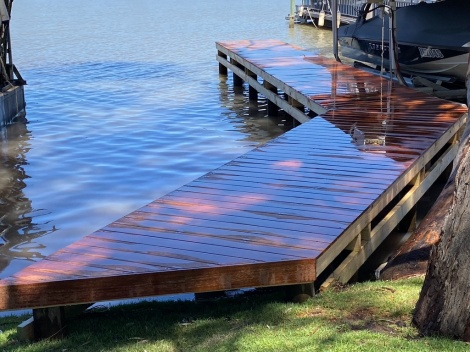 Jetty at Mannum
