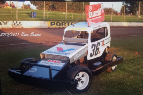 Ricky Mitchell Stock Car