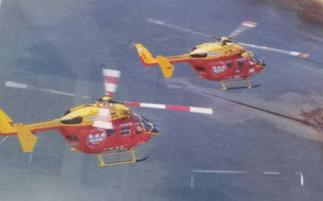 Westpac Rescue Helicoptor