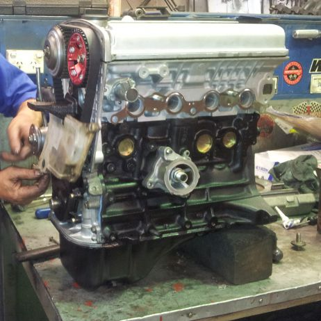 4AGE Toyota Full Rebuild by Marty