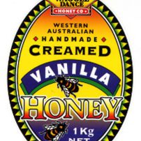 Creamed Vanilla Bean Honey 1kg