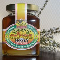 Organic Orange & Honey 240g
