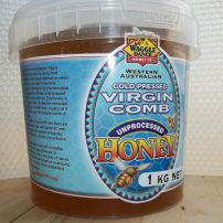 Cold Pressed Virgin Comb-Liquid Honey 1kg