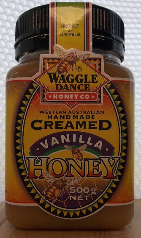 Handmade Creamed Vanilla Honey 500g