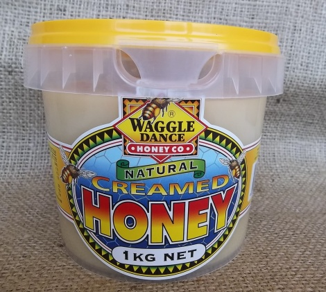 Natural Creamed Honey 1kg