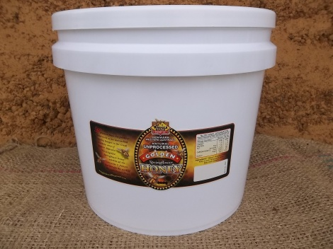 Natural Golden Honey 14kg