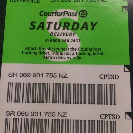 Saturday Delivery Ticket