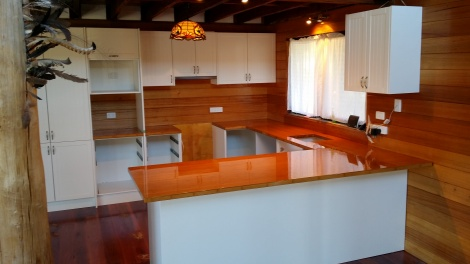 Timber benchtops Newcastle