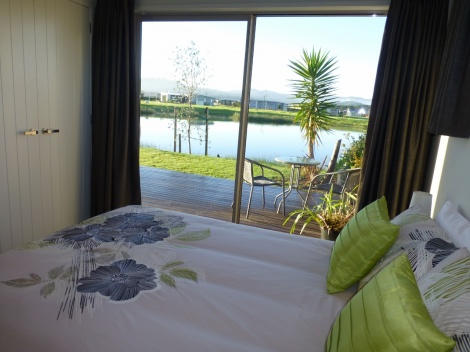 Bedroom view of lake
